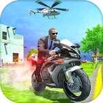Rendőrségi motoros sofőr játék
