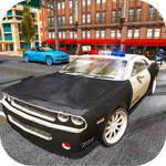 Poliția Car Stunt Simulare 3D joc