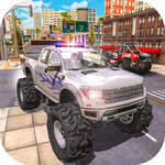 Polis Kamyon Sürücü Simülatörü oyunu