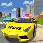 Coche de deriva de la policía juego