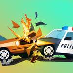 Angriff auf Polizeiauto Spiel