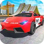 Полицията кола каскадьор шофьор игра