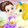 Princesse avec Licorne jeu