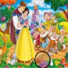 Princess Snow White Hidden Stars game
