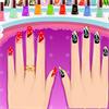 Diseño de uñas de fiesta juego