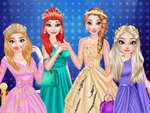 Prinzessin High Fashion Red Carpet Show Spiel