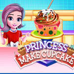 Princess Make Cup Cake game