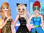 Princess Animal Style Fashion Party spel