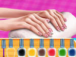 Princess Fashion Nail Art DIY Blog game