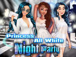 Prinses All White Night Party spel