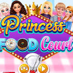 Princess Food Court spel