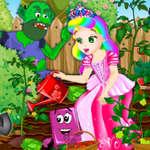 Prinzessin Julia Garten Ärger Spiel