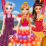 Princess Balloon Festival game