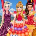 Festival de Globos princesa juego