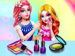 Salon de maquillage princesse jeu