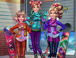 Princesses Winter Holiday game