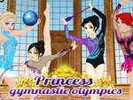 Prințesa Jocurile Olimpice de gimnastică
