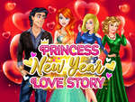Princess New Year Love Story game