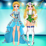 Princess Spring Fashion Show juego