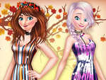 Princesas BFFs Fall Party juego