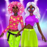 Prenses İnanılmaz Bahar Neon Saç Modelleri oyunu