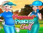 Pregnant Princess Golfs game