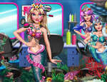 Princess Mermaid Beauty Salon game