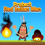 игра Защитите красный индийский человек