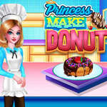Princess Make Donut game