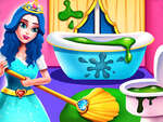 Princess Home Cleaning game