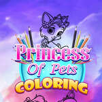 Princess Of Pets Coloring game