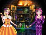 Prinzessin Halloween Kleid Spiel
