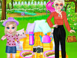 Princess Family Picnic Day game