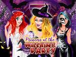 Princess at the Villains Party game