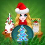 Принцеса магия Коледа diy игра