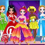 Принцеси Моден Социални Нетворци игра