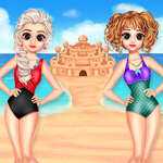 Princezná Letný piesočný hrad