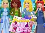 Princezná Maxi šaty hra
