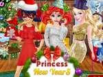 Princezná Novo rok Party hra