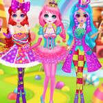 Princezná sladké cukríky Cosplay hra