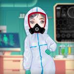 Принцеси срещу епидемия игра