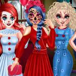 Prinzessin Halloween Party Vorbereitung Spiel
