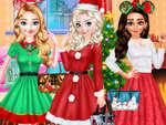 Принцеса Коледно парти игра