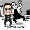PSY úriember tánc játék