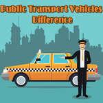 Diferența vehiculelor de transport public joc