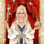 Кралицата мода салон Royal обличане игра