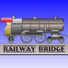 Železničný most na ceste hra