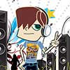 Rapper Style Dressup game