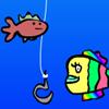 игра Рыбка радужная