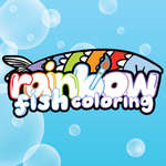 Rainbow Fish Coloring game